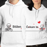 Ljubav na putu poklon majice i duksevi