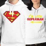 Ja sam sa supermenom poklon majice i duksevi