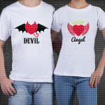 Đavo i Anđeo poklon majice i duksevi