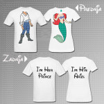 Ariel i Erik poklon majice i duksevi