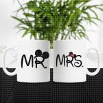 Gospodin i gospođa poklon šolje