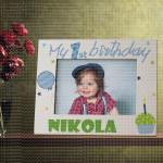 Moj prvi rođendan poklon ram za slike