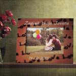 Ljubavno poklon ram za slike