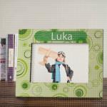 Zeleni krugovi  poklon ram za slike