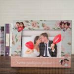 Srećna godišnjica ljubavi poklon ram za slike
