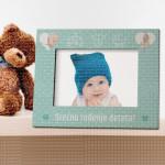 Srećno rođenje poklon ram za slike
