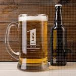 Tata broj 1 poklon čaša za pivo