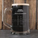 Pivske naočare poklon čaša za pivo