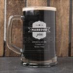 Njegovo pivo poklon čaša za pivo