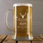 Jelen poklon čaša za pivo