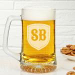 Inicijali poklon čaša za pivo