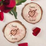 Srce poklon set podmetača