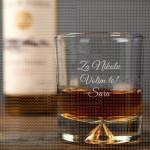 Volim te poklon čaša za viski