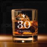 Srećan rođendan sa krunom poklon čaša za viski
