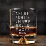 Slova poklon čaša za viski