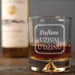 Uživaj u piću poklon čaša za viski