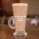 Volim moju kafu i Luku poklon čaša za kafu