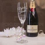 Najbolji dan ikada poklon čaša za šampanjac