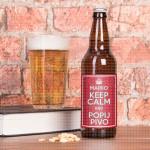 Keep Calm poklon pivo