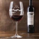 Srećan rođendan poklon čaša za vino