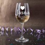 Dragoj poklon čaša za vino
