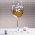 Mamin lek poklon čaša za vino