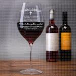 Od Boga ti zdravlje poklon čaša za vino