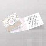 Ornament pozivnica za venčanje