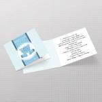 Plavi slon pozivnica za rođendan