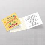 Šareni baloni pozivnica rođendan