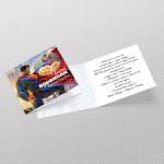 Supermen pozivnica za rođendan