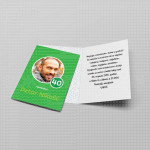Zelena pozivnica za rođendan