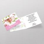 Cvetna pozivnica za devojačko veče