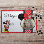 Poklon puzzle Minnie Mouse