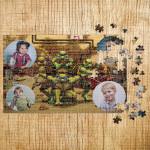 Poklon puzzle Foto kolaž Nindža Kornjače