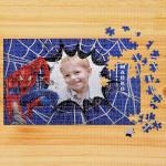 Poklon puzzle Spiderman plava podloga