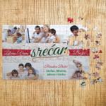Poklon puzzle Srećan Božić