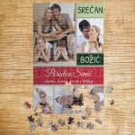 Poklon puzzle Božićni kolaž