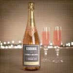 Godina venčanja  poklon šampanjac
