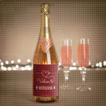 Volim tebe poklon šampanjac
