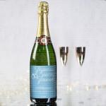 Srećni zajedno  poklon šampanjac