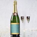 Upravo venčani  poklon šampanjac