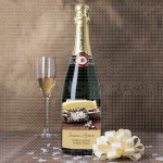 Venčanje sa objavom poklon šampanjac