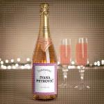 Roze poklon šampanjac