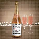 Abeceda poklon šampanjac