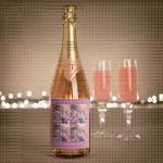Kolaž ljubavi  poklon šampanjac