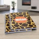 Leopard dizajn poklon sveska za školu