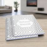 Sivo belo poklon dnevnik