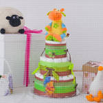 Winnie Pooh poklon torta od pelena