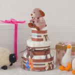 Kuca poklon torta od pelena